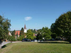 September 2016 – ein Spaziergang durch Dietersdorf. Friedhofsgässchen