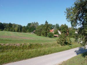 September 2016 – ein Spaziergang durch Dietersdorf. Kirchweg