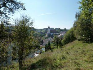 September 2016 – ein Spaziergang durch Dietersdorf. Blick von St. Hedwig