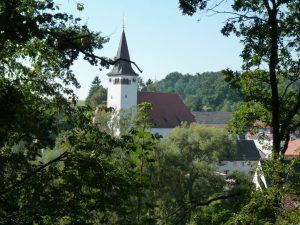 September 2016 – ein Spaziergang durch Dietersdorf. Georgskirche nah