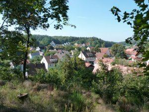 September 2016 – ein Spaziergang durch Dietersdorf. Dietersdorf von Oben