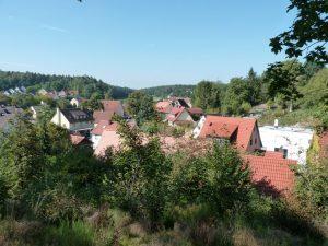 September 2016 – ein Spaziergang durch Dietersdorf. Blick von Oben