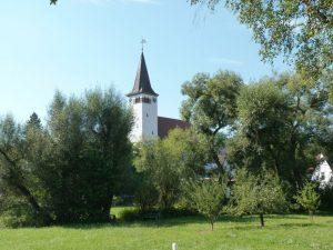 September 2016 – ein Spaziergang durch Dietersdorf. Georgskirche - Im Gründel