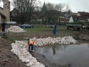 2014 - Weiherprojekt Dietersdorf
