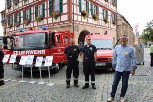 02.09.2017 - Das Fest der Stadtteile zum Jubiläumsjahr der Stadt Schwabach - 900 Jahre. Feuerwehr