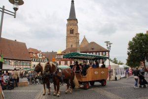 02.09.2017 - Das Fest der Stadtteile zum Jubiläumsjahr der Stadt Schwabach - 900 Jahre. Kutschfahrt