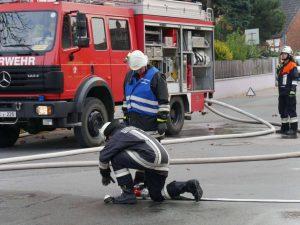 24.09.2017 - Feuerwehrübung in Dietersdorf. Übung