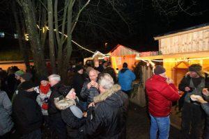 Weihnachtsmarkt in Dietersdorf 2017. Buden