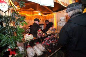 Weihnachtsmarkt in Dietersdorf 2017. Lebkuchen