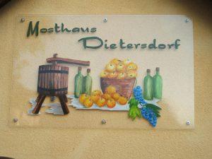 Mosthaus Dietersdorf 2005 Logo