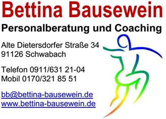 Personalberatung Bettina Bausewein Schwabach Dietersdorf