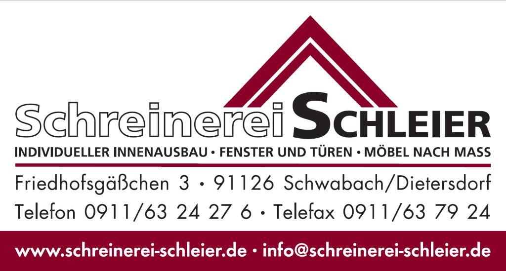 Schreinerei Schleier Schwabach Dietersdorf