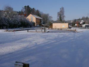 18.02.2018 Winter Impressionen Dietersdorf (RPS) - Dorfweiher