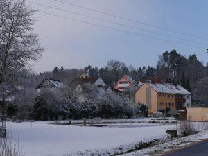 18.02.2018 Winter Impressionen Dietersdorf (RPS) - Dorfweiher - Festplatz