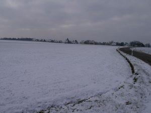18.02.2018 Winter Impressionen Dietersdorf (RPS) - Krottenbacher Str. - Blick auf Rotenberg