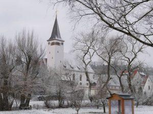 18.02.2018 Winter Impressionen Dietersdorf (RPS) - Georgskirche