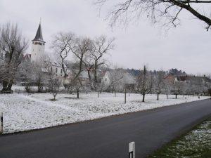 18.02.2018 Winter Impressionen Dietersdorf (RPS) - Im Gründel Georgskirche