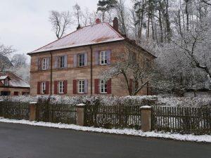 18.02.2018 Winter Impressionen Dietersdorf (RPS) - Pfarrhaus