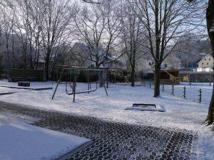 18.02.2018 Winter Impressionen Dietersdorf (RPS) - Spielplatz hinter dem Feuerwehrhaus