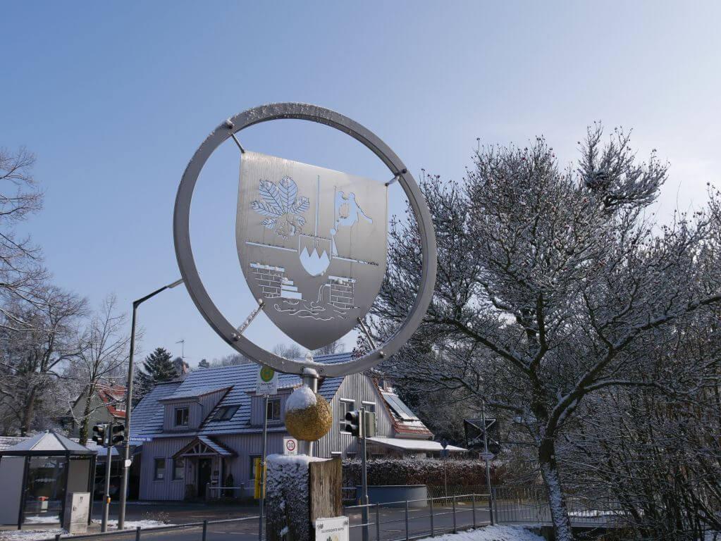 18.02.2018 Winter Impressionen Dietersdorf (RPS) - Wappen Dietersdorf