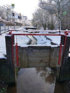 18.02.2018 Winter Impressionen Dietersdorf (RPS) - Schleuse Zwieselbach