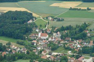 2012 Luftbilder Dietersdorf vom Heissluftballon (UH)