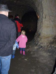 """06.10.2013 Kulturwanderung Dietersdorf (RPS) - """"Rattatas-Höhle"""" von Innen"""