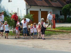 2013 - Kärwa Dietersdorf (RPS) - Kinder-Kirchweihbaum