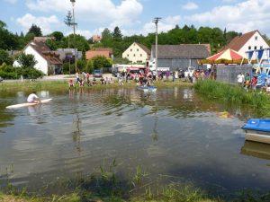 2013 - Kärwa Dietersdorf (RPS) - Fischerstechen am Dorfweiher