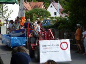 2014 - Kärwa Dietersdorf (RPS) -Festumzug Gewerbe Dietersdorf