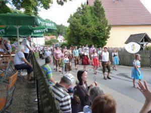 2014 - Kärwa Dietersdorf (RPS) -Festumzug - Wolkersdorfer Kärwaboum
