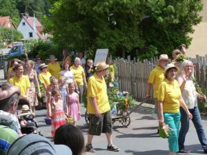 2014 - Kärwa Dietersdorf (RPS) -Festumzug - Obst- und Gartenbauverein
