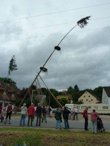 2016 - Kärwa Dietersdorf (RPS) - Baum aufrichten