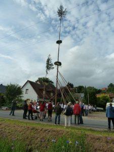 2016 - Kärwa Dietersdorf (RPS) - Kärwa-Baum steht