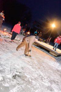 22. 01.2017 - Eisstockschiessen auf dem Dorfweiher