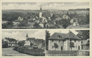 Postkarte aus Dietersdorf (vor 1952) - Privatbesitz (RPS)