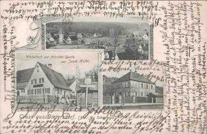 Postkarte aus Dietersdorf (vor 1910)