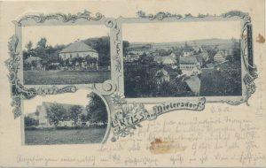 Postkarte aus Dietersdorf (vor 1902) - Privatbesitz (RPS)