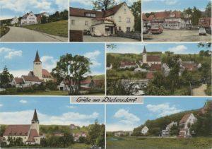 Postkarte aus Dietersdorf (vor 1977) - Privatbesitz (RPS)