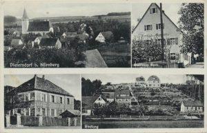 Postkarte aus Dietersdorf (vor 1937) - Privatbesitz (RPS)