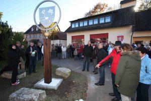 Einweihung Dietersodorfer Wappen 2011