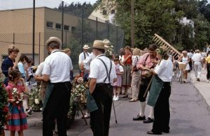 1989 750 Jahre Wolkersdorf - Festumzug OGV