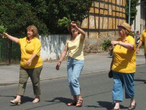 24.05.2009 Feuerwehrfest Wolkersdorf - Festumzug OGV