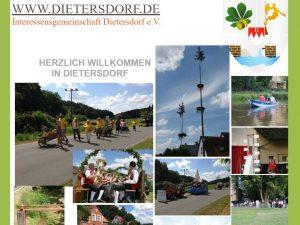 2014 - Homepage dietersdorf.de