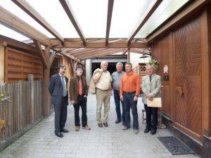 Besuch der Stadt Schwabach 2007 - Schleier