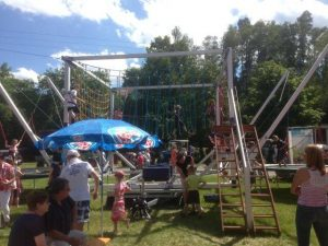 2013 Dorffest Dietersdorf - Kletterpark