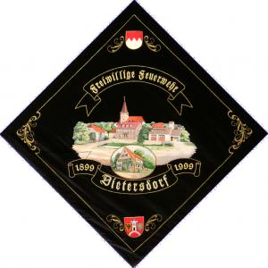 Vereinsfahne Freiwillige Feuerwehr Dietersdorf