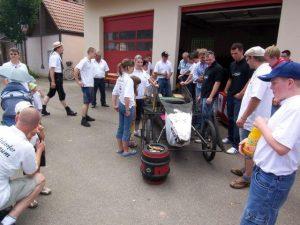 Beiträge zur Kirchweih in Dietersdorf 2007