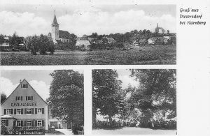 Postkarte aus Dietersdorf (Archiv: H. P. Grießhammer)