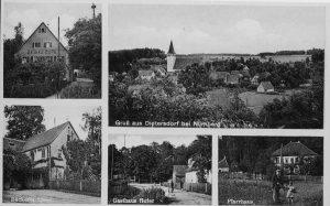 Postkarte aus Dietersdorf (Privatbesitz: Burbach)